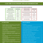 August Monthly Report-Can the US Economy Regain Momentum - Thumb 1