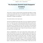 Bulletin-The Eurozone Summit Could Disappoint Investors- Thumb