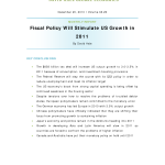Monthly Report-Fiscal Policy Will Stimulate US Growth in 2011-12-20-2010.pdf- Thumb