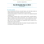 No US Double Dip in 2012- Thumb