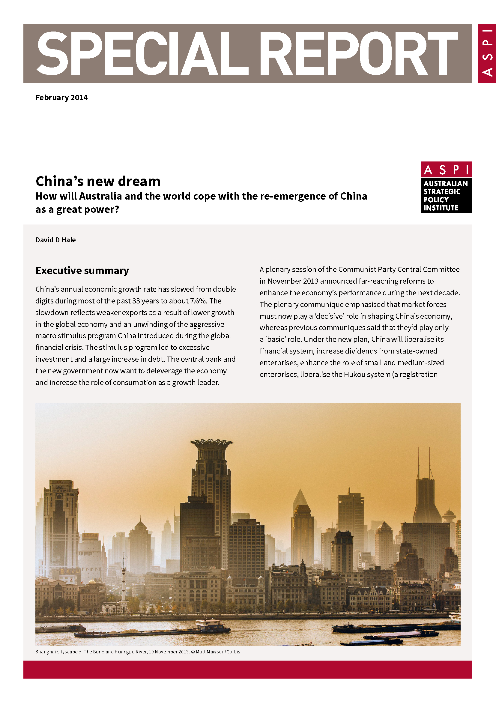 2014_In-Depth Report_Chinas New Dream-DHGE-ASPI - Thumb 1